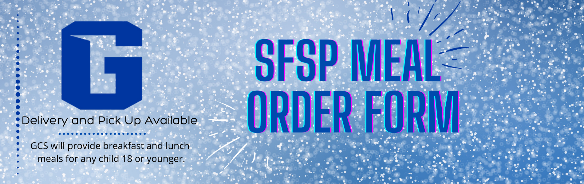 SFSP Meal Order Form